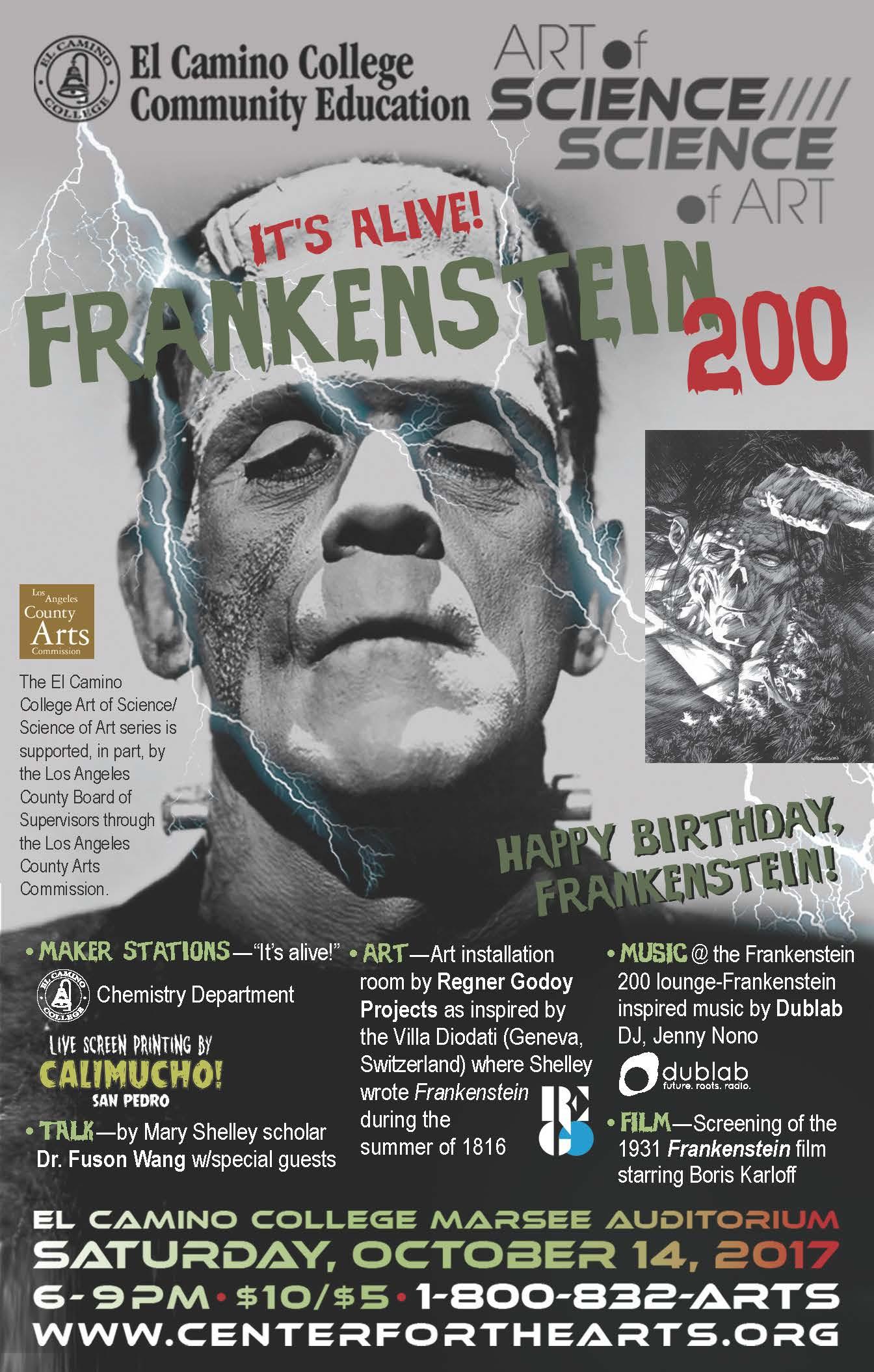 Frankenstein 200 LA Weekly print ad