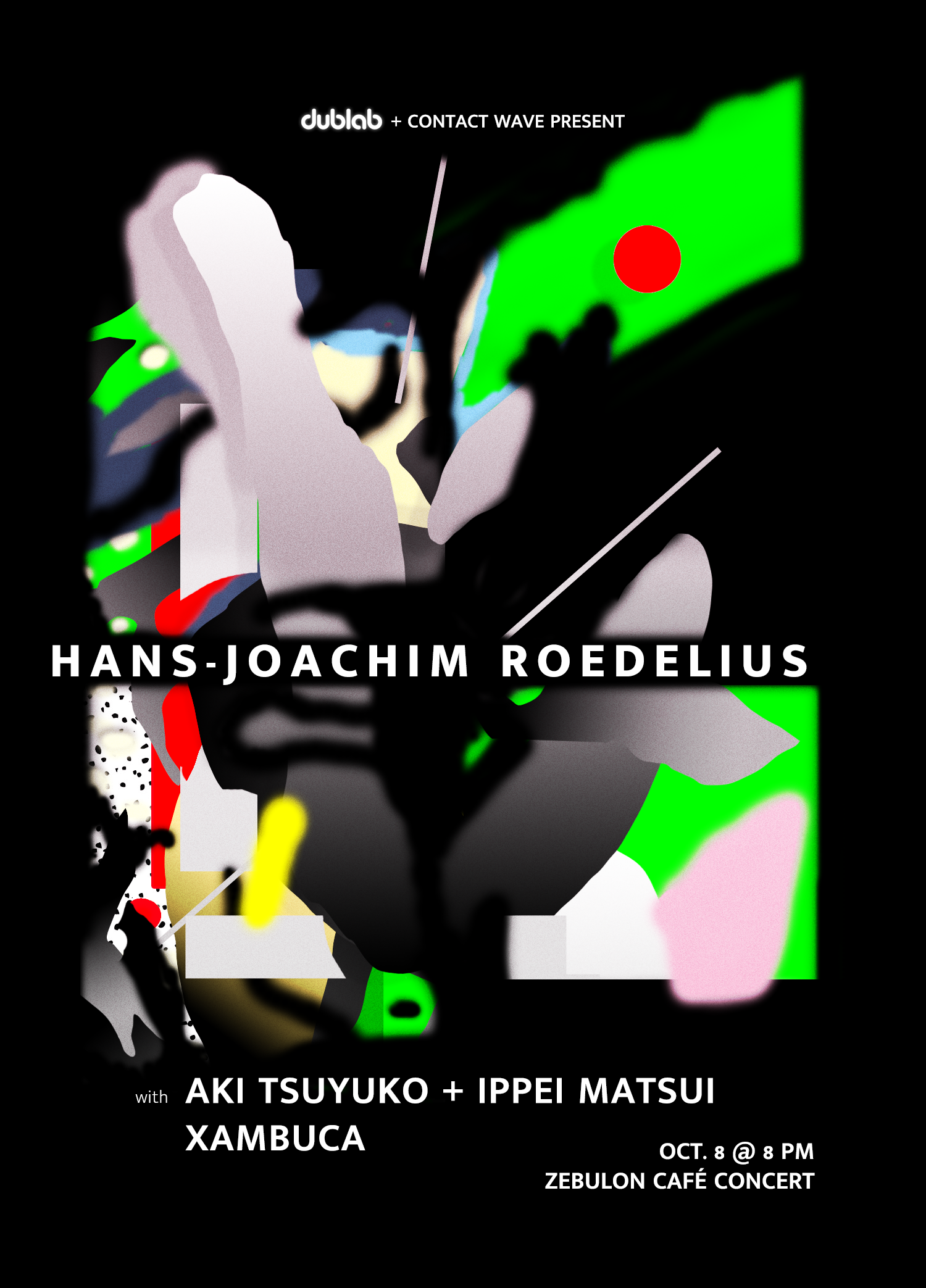 Roedelius Poster